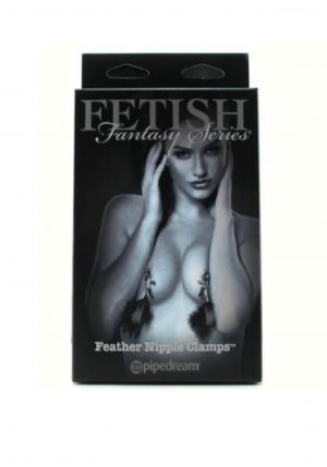 Pipedream Fetish Fantasy Nipple Clamps Feather