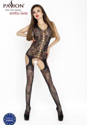 Passion - Body Stockings – Zwart – BS012